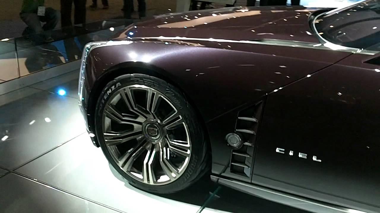Cadillac CIEL Concept Drop Top Convertible With Suicide ...