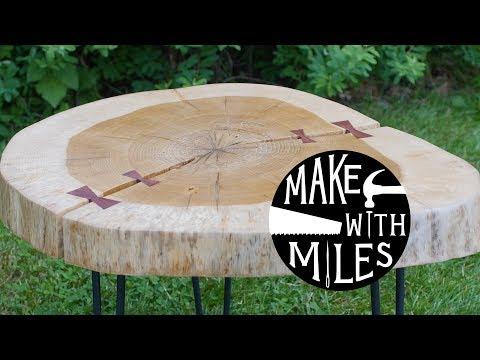 DIY Oak Coffee Table//Woodworking