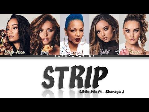 Little Mix - Strip ft. Sharaya J (Color Coded Lyrics) indir