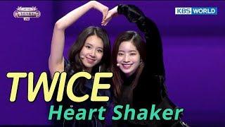 TWICE (????) - Heart Shaker [SUB: ENG/CHN/2017 KBS Song Festival(?????)]