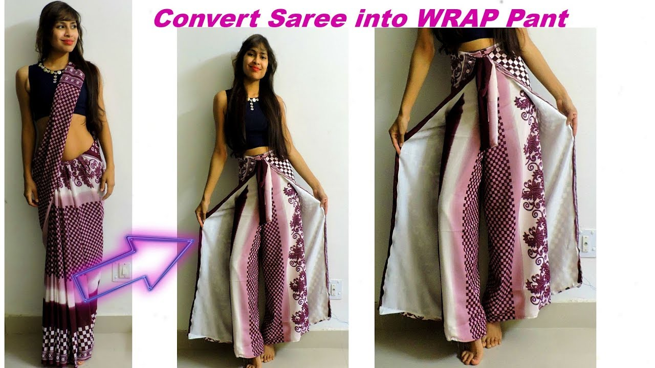 How to wear and make wrap pants