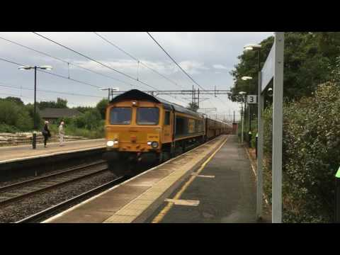 Acton Bridge - Weekend Freight Variety - 9th-11th September 2016