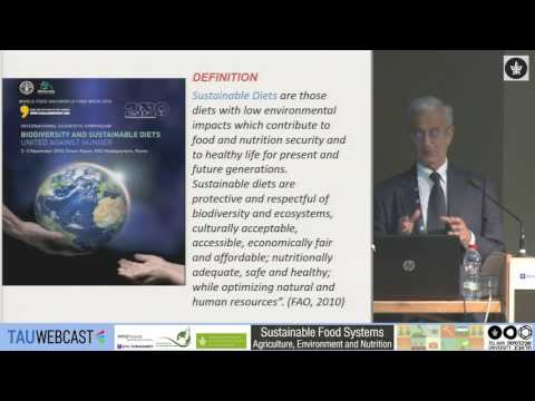 Towards Sustainable Diets: Mediterranean diet as a case study