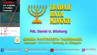 Download IBADAH RAYA MINGGU, 28 MARET 2021  - Pdt. Daniel U. Sitohang