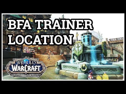 Alliance Fishing Trainer Location BfA
