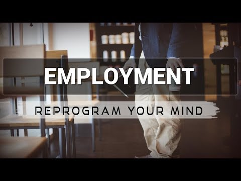 Employment affirmations mp3 music audio - Law of attraction - Hypnosis - Subliminal