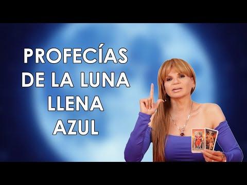 #PROFECÍAS DE LA LUNA LLENA AZUL #31deOctubre #Lunallena