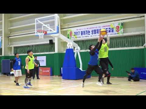 제주삼다수 3X3 BASKETBALL CHALLENGE 대학부 4강전 제주도푸른밤 vs 이상훈남친구함