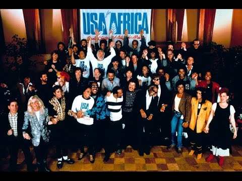 USA for Africa /  We are the World -1985.