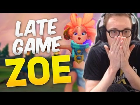 Bjergsen - LATE GAME ZOE (Duo With MikeYeung)