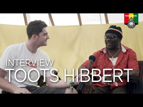 Interview with Toots (& The Maytals) at Boomtown Fair 2017