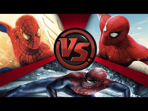 SPIDER-MAN BATTLE ROYALE! (Tom Holland vs Tobey Maguire vs Andrew Garfield) | CARTOON FIGHT CLUB