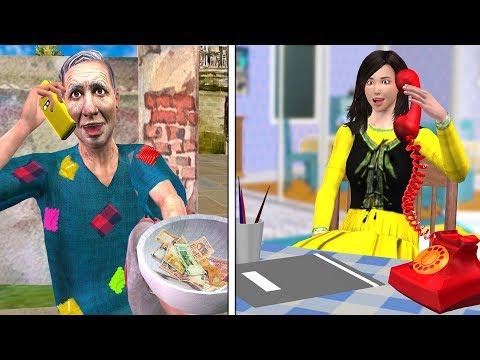 Customer Care Funny Video Hindi Kahaniya   Bedtime Moral Stories   Hindi Fairy Tales 3D