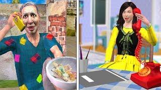 ग्राहक सेवा Customer Care Funny Video Hindi Kahaniya | Bedtime Moral Stories | Hindi Fairy Tales 3D