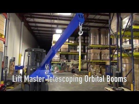 Lift Master Telescoping Orbit Boom Product Demonstration
