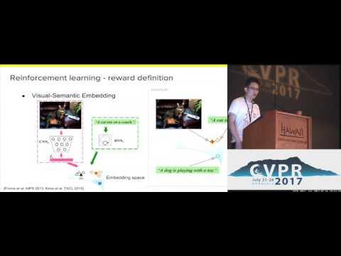 Deep Reinforcement Learning-Based Image Captioning With Embedding Reward