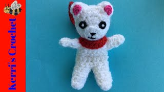 Crochet Teddy Bear Tutorial - Crochet Plane Mobile Part 2