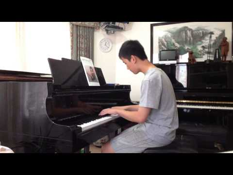 Nicholas Doan plays Chopin Waltz op 70 no 2