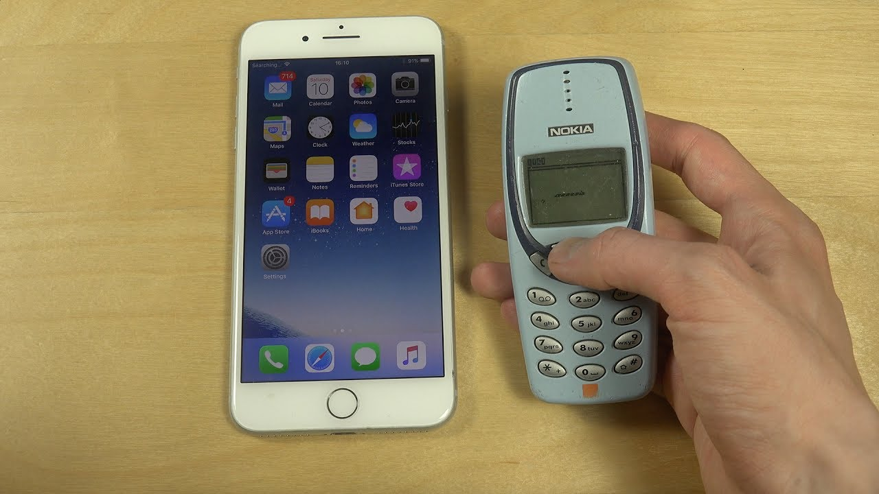 iphone 7 plus ios 11 beta vs nokia 3310 which is faster youtube. Black Bedroom Furniture Sets. Home Design Ideas