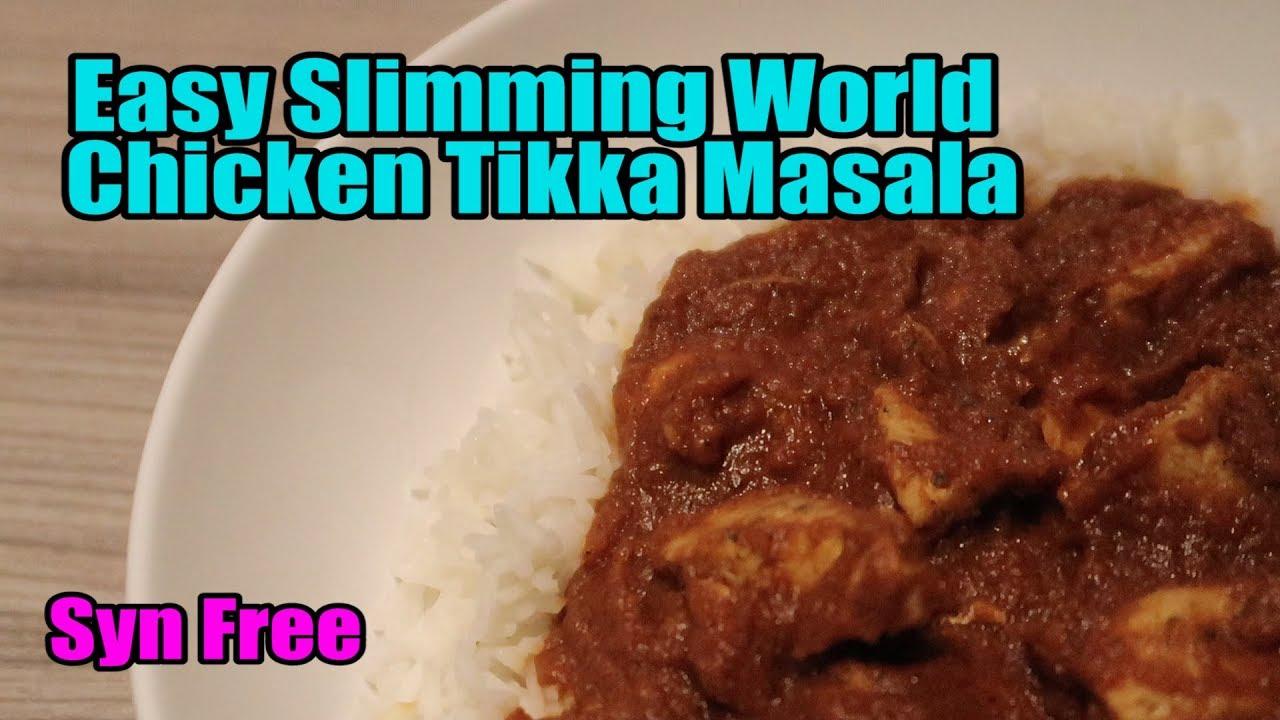 Easy Slimming World Chicken Tikka Masala Syn Free Fakeaway