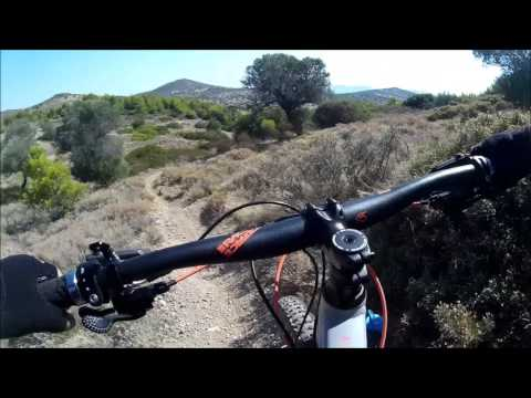 Mtb at the National Park of Sounio - Greece