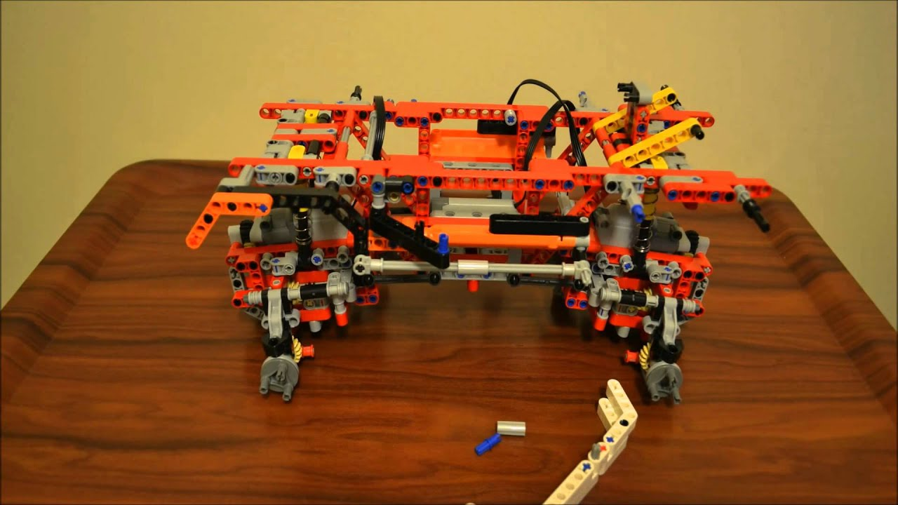 Lego technic 9398 4x4 crawler stop motion construction - Jeux de construction lego technic ...