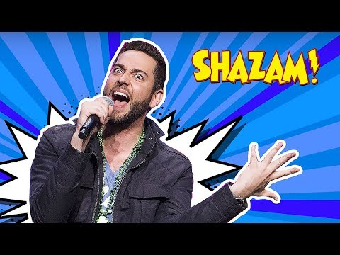 ZACHARY LEVI SHAZAM SINGING REAL VOICE!!!