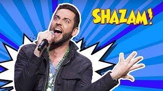 zachary levi shazam singing real voice