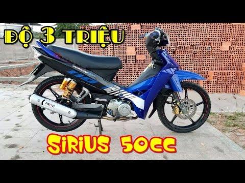 Sirius 50cc kiểng nhẹ 3 triệu cho sinh viên