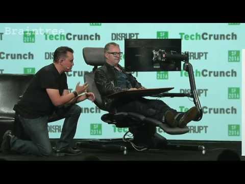 Altwork Station on stage at TechCrunch Disrupt