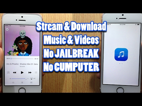 How to STREAM & DOWNLOAD Music, Videos Free in iOS 10 without a Jailbreak/Computer