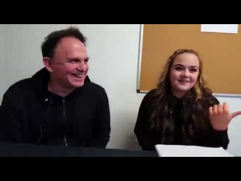 Bryan Adams photobombs my Keith Scott interview!