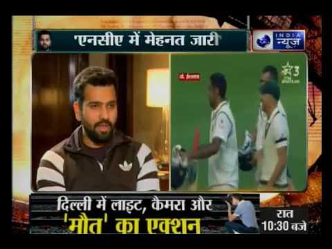 India News exclusive interview with Rohit Sharma