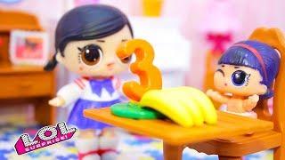 Сборник смешных мультиков №8 про Куклы ЛОЛ Сюрприз. Весёлые Игрушки LOL Dolls