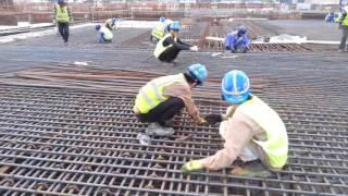 Công việc làm sắt thực tập sinh nhật bản ngành xây dựng