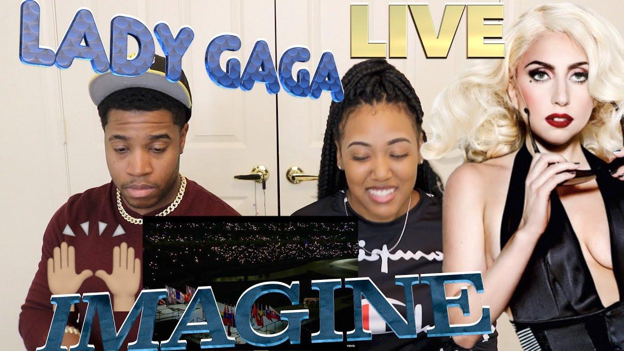Download Lady Gaga - Imagine (Live at Baku 2015 European Games Opening Ceremony) ]Reaction]