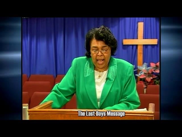 Last Days Message 18 8 13 8 19