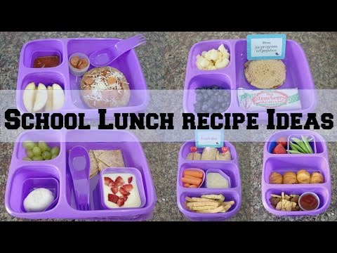 Back To School Lunch Recipe ideas & Goodbyn!