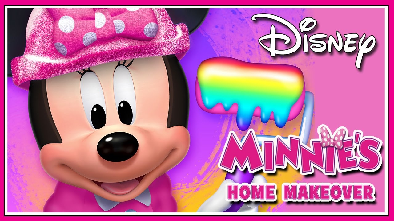 Minnie Mouse Game Episodes - Minnie's Home Makeover  for Girls