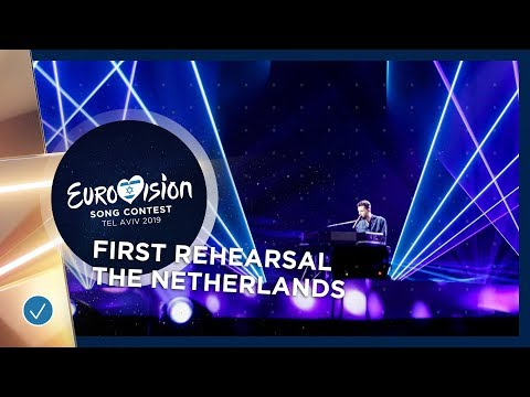 The Netherlands 🇳🇱 - Duncan Laurence - Arcade - First Rehearsal - Eurovision 2019