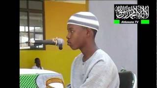 Mashindano ya Quran Tukufu iliyofanyika 2009 Mwanza Tanzania. By Ahmed Ahlusuna Tv. Mwanza Tz.