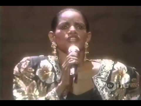 Melba Moore  There I Go Falling In Love Again Live 1987)