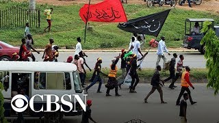Nigerian Army defends killing protesters by quoting Trump