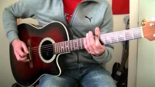 Soda Stereo   Un Misil En Mi Placard (unplugged)   Guitar Cover