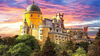 Luxury Monserrate Palace Wedding Ceremony and Pena Palace Wedding Reception in Sintra - Portugal
