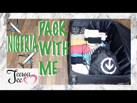 PACK WITH ME TO GO TO NIGERIA + TRAVEL PACKING TIPS | SUMMER OUTFITS