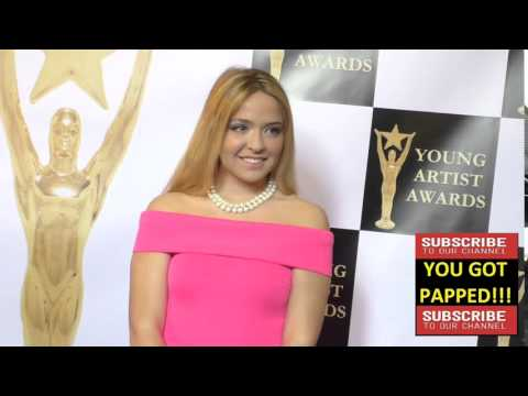 Amanda Buhs at the 37th Annual Young Artist Awards Sportsman Lodge in Studio City