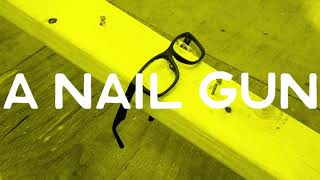 Wiley X's Youth Force Eyeglasses vs. A Nail Gun