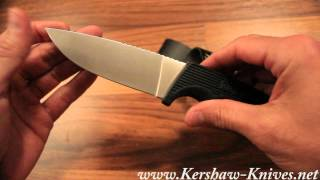 Kershaw Bear Hunter II Knife 1029 - Video Demo