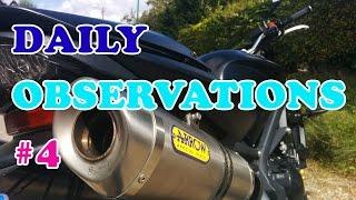 Daily Observation #4 - Quasi accident, des piétons sauvages, des belles caisses ...
